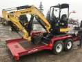 Rental store for Mini Excavator  8000  w  Trailer Kit in Ukiah CA