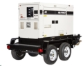 Rental store for Towable Generator, 45 kva, Super Silent in Ukiah CA
