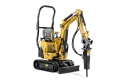 Rental store for 2500  Mini Excavator with 130  Hammer in Ukiah CA