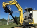 Rental store for 8000  Mini Excavator Angle w  Auger in Ukiah CA