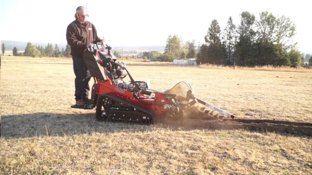 Where to find 24  x 6  22hp Stand-On Track Trencher in Ukiah
