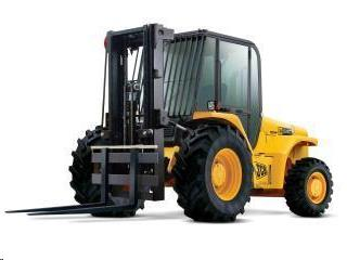 Rent Forklift: Rough Terrain Straight Mast