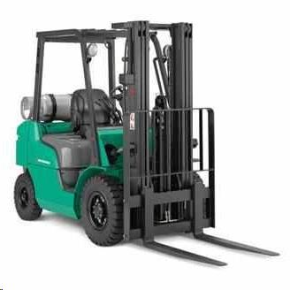 Rent Forklift: Straight Mast