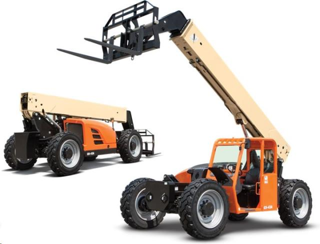 Rent Forklift: Telescopic Forklifts